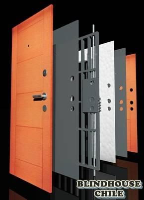 Puertas blindadas de seguridad para casas blindhouse - Puertas de metal para casas ...